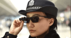 Chinese police face recognition
