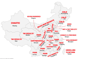 provinces in china: market research