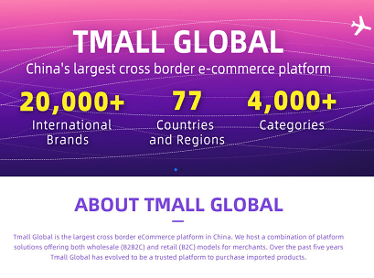 Tmall Global's New English Version is a Game Changer